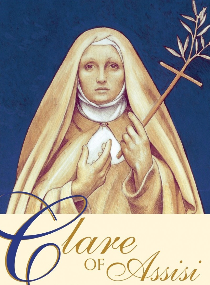 St Clare of Assisi - Fransciscan Saint